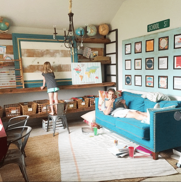 Minimalist Homeschool Room: Purging Your Home Is A Lot Like Marriage