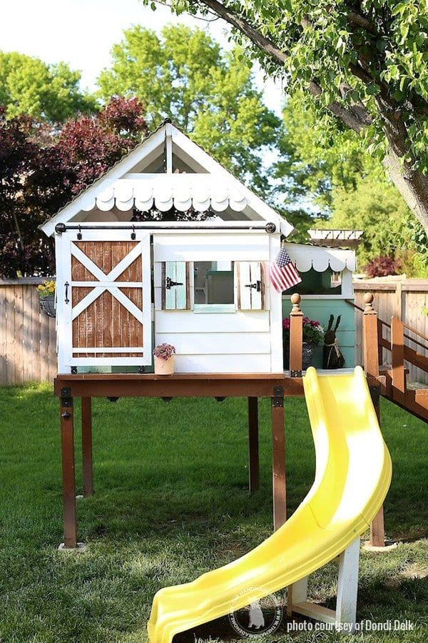 Diy Clubhouse Outdoor Kids