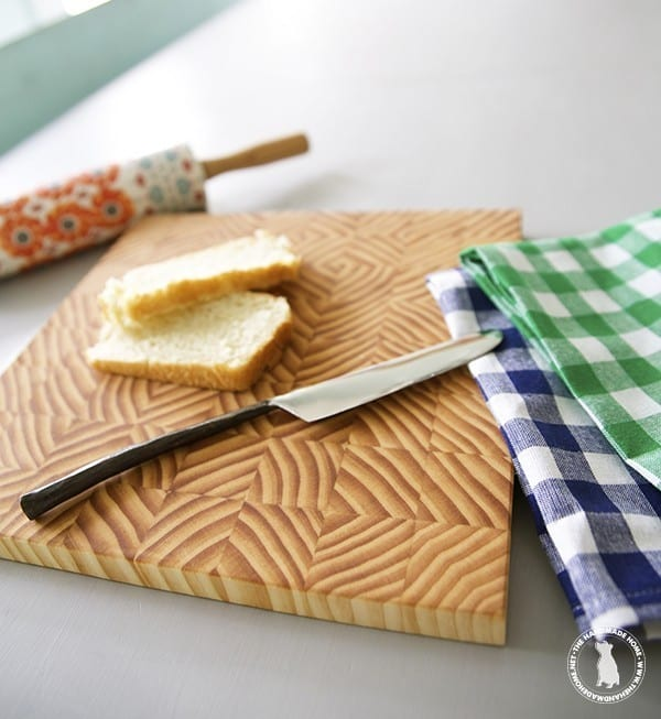 The Handmade Home How to make a Cutting Board