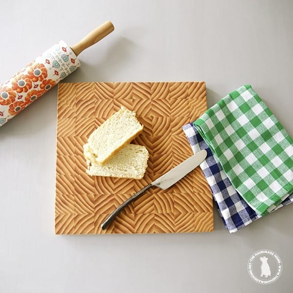 How to make a cutting board the handmade home for Make your own chopping board