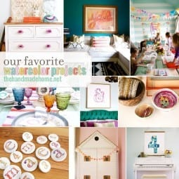 our favorite watercolor projects