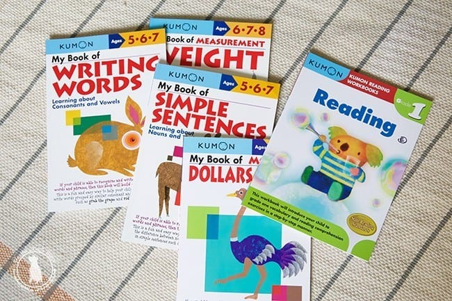 workbooks_kumon