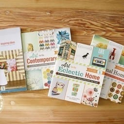 the handmade home book series {giveaway}