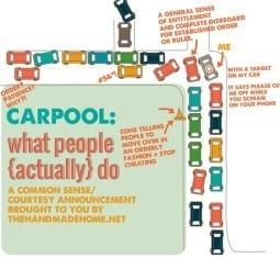 carpool rage mom