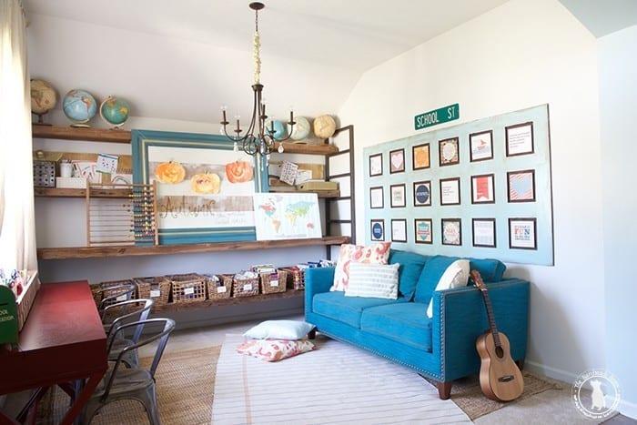 homeschool_room_the_handmade_home
