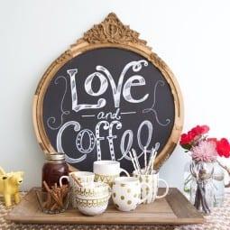pumpkin spice coffee {and hand painted coffee mugs}