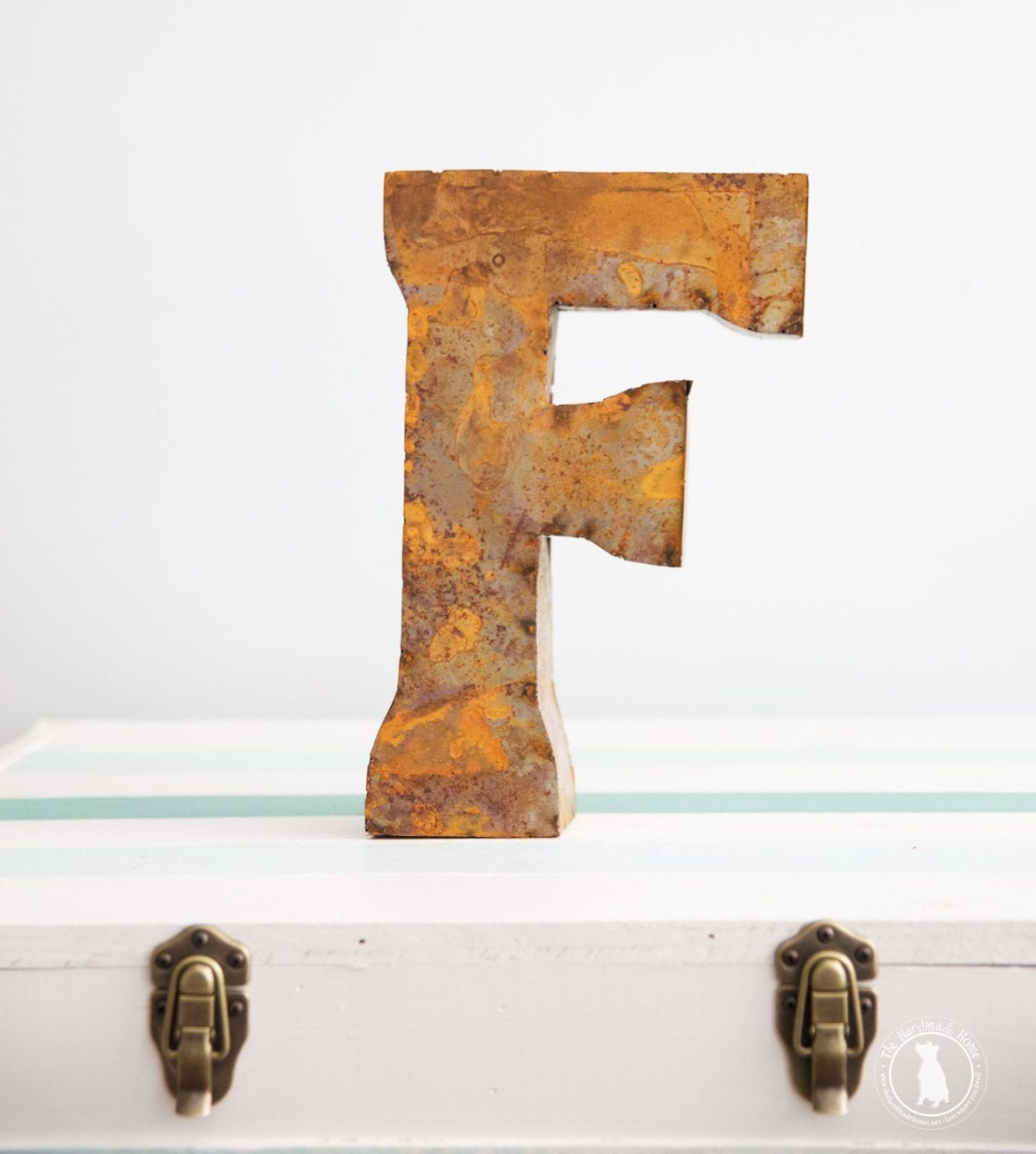 24 Inch Metal Letters Alphafantastical Metal Letters 24 Inch Height  The Handmade Home