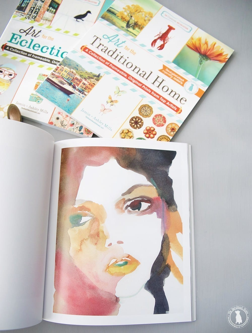 art_series_books_the_handmade_home