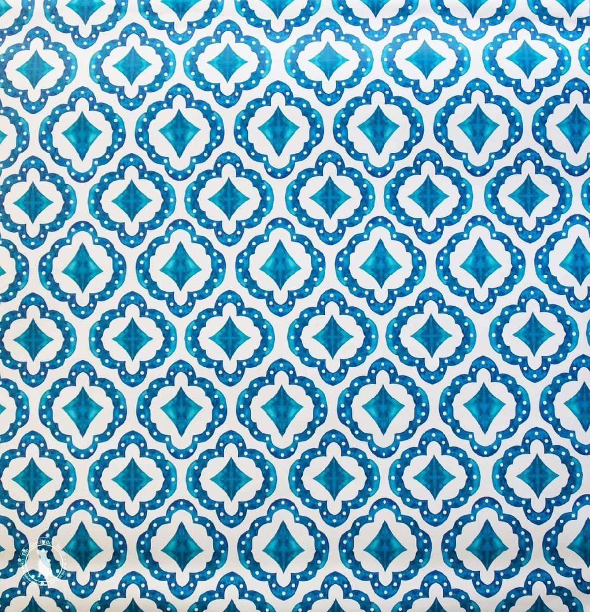 bejeweled indigo wallpaper the handmade home