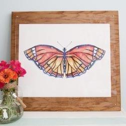 butterfly_orange_print