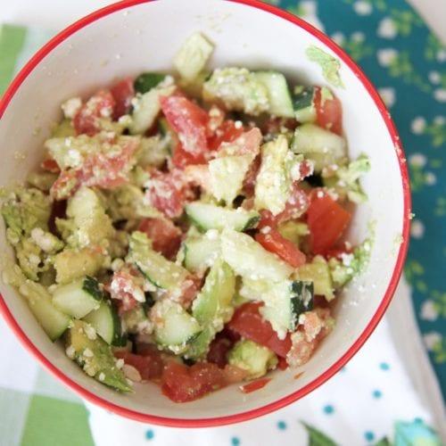 feta fresh salad