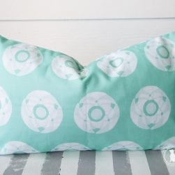 floral_stamped_aqua_pillow_12x20