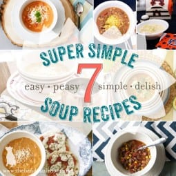 seven super simple soups