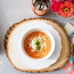 tomato chicken tortellini soup