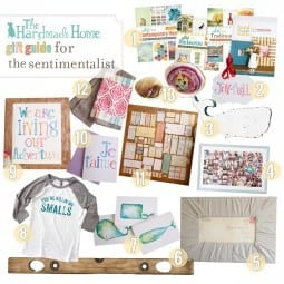 gift ideas for the sentimentalist