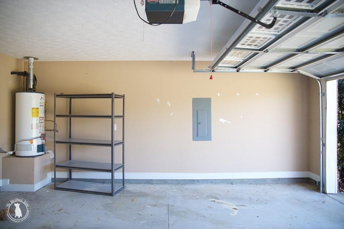 How to refinish your garage floor the spray paint grenade for Garage floor cleaner powder