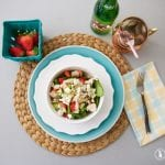 grilled chicken blue cheese salad