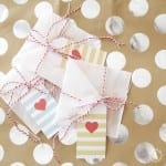 stained glass valentines cookies + freebie heart tags