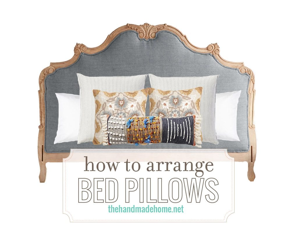 Arranging Throw Pillows On Bed : now and later: master bedroom ideas - the handmade home