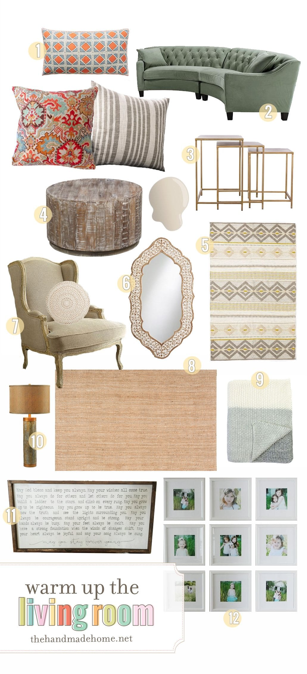 For Their Living Room We Wanted To Choose Items That Both Worked With Existing Pieces But Then Also Have A Few Suggestions Newer Down The Line