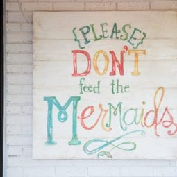 please don't feed the mermaids