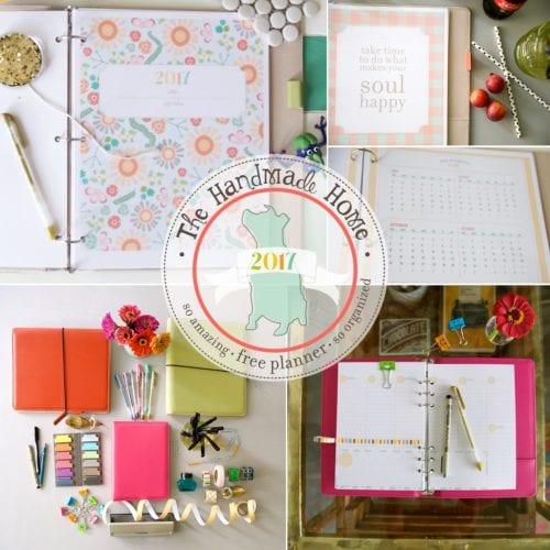 free planner 2017