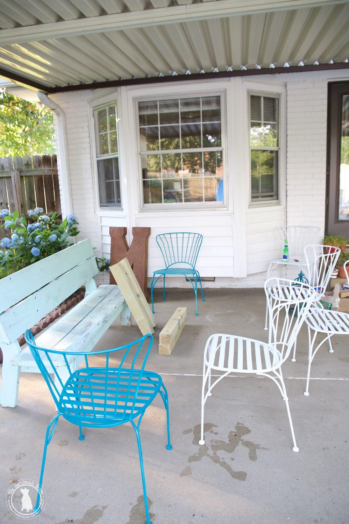 Patio Furniture Rehab at Home and Interior Design Ideas