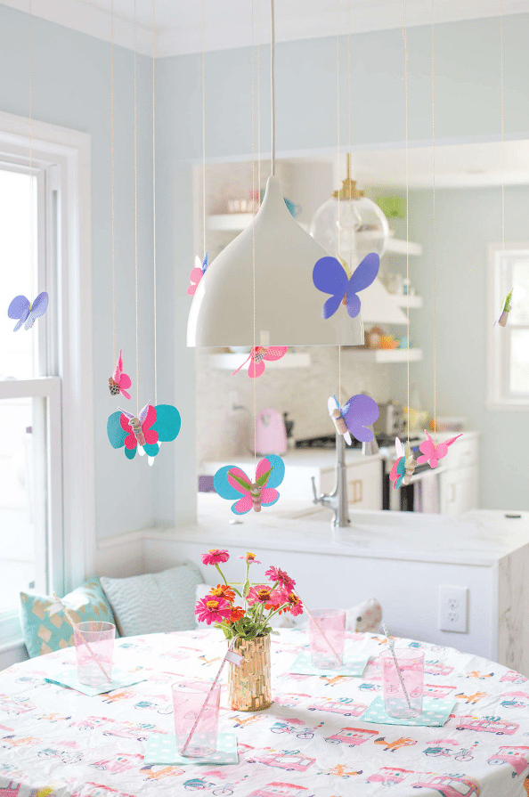 butterfy decor