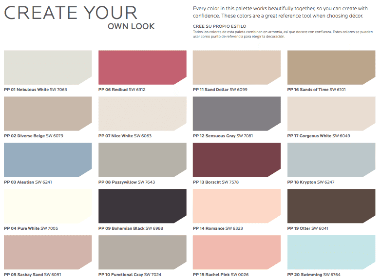 Sherwin Williams Hgtv Paint Color Collections