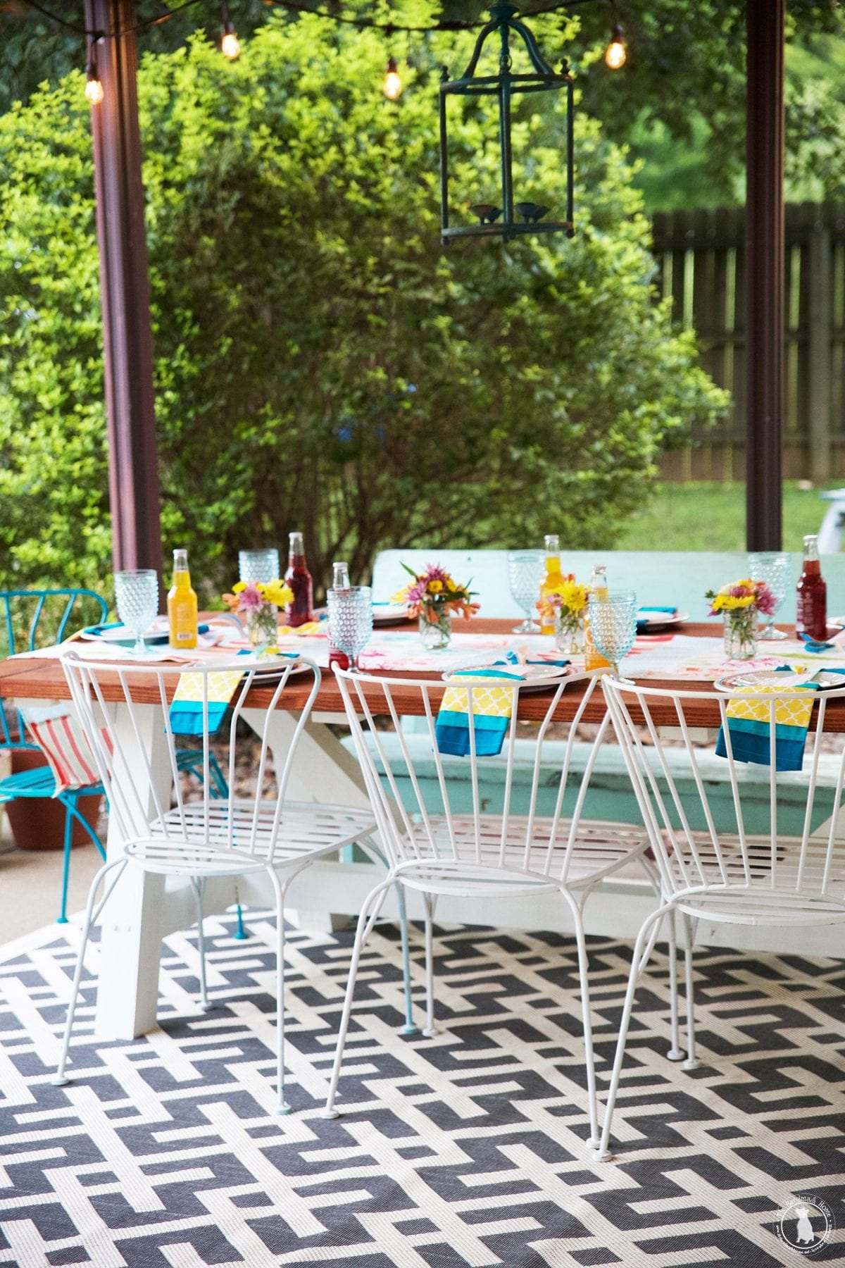 Dining Al Fresco With Waverly Inspirations The Handmade Home