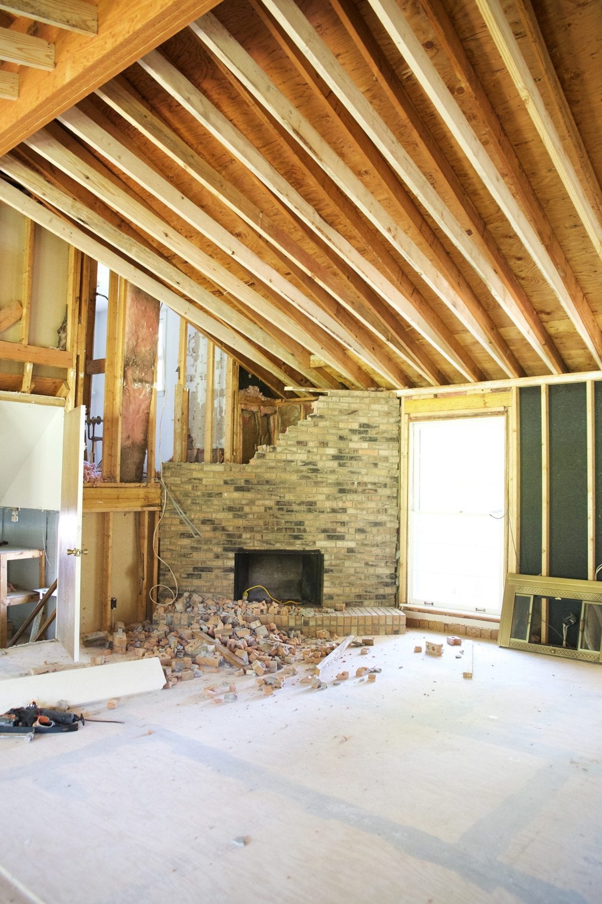 framing and drywall and plumbing oh my the handmade home