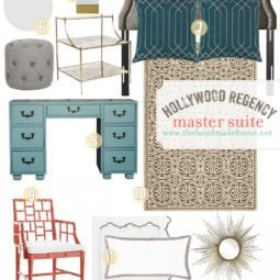 hollywood regency master suite