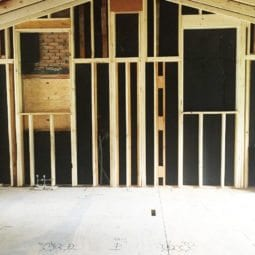 framing and drywall and plumbing oh my!