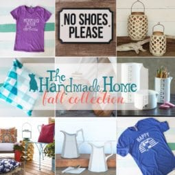 the handmade home fall collection