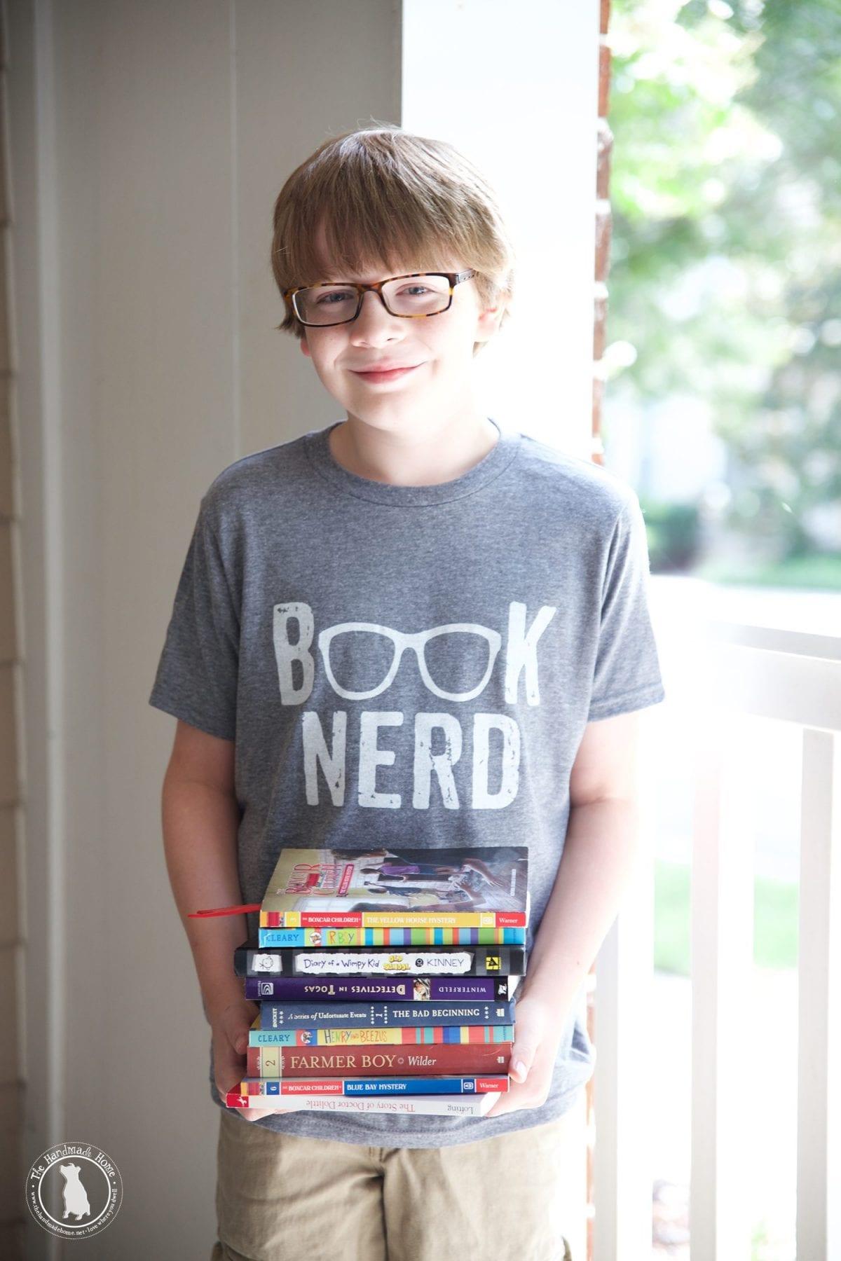 grey_book_nerd_tee_kids