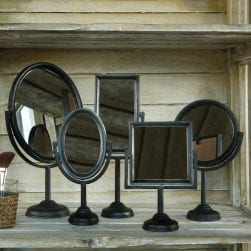 square_cast_iron_mirror