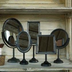 square_cast_iron_mirror