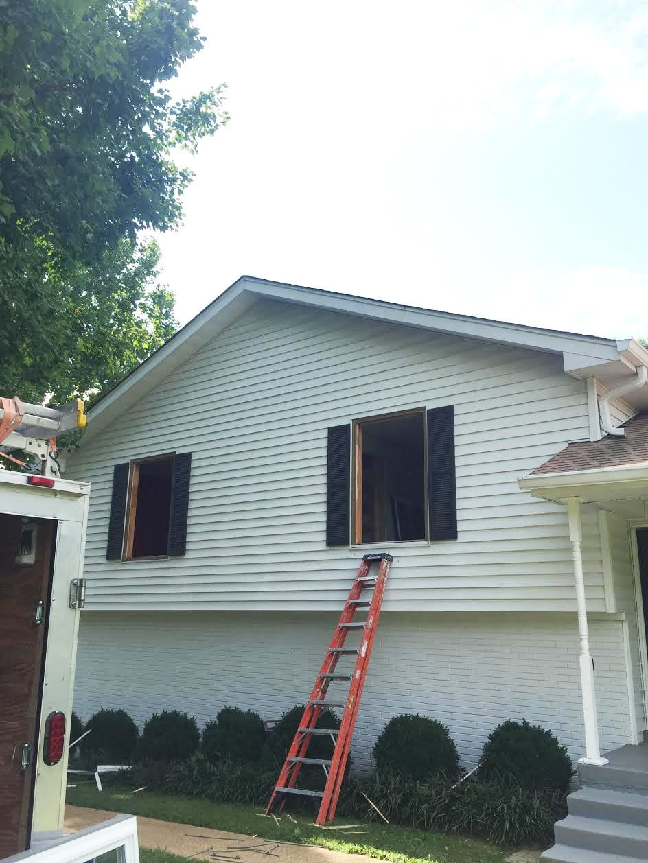 The process of installing new windows with window world for Installing new windows