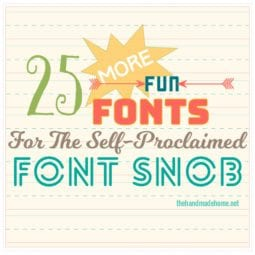 the font snob club {september 2016}