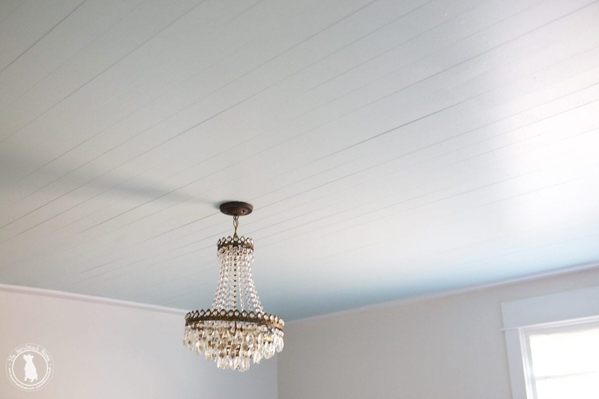 How To Shiplap Your Ceilings The Handemade Home