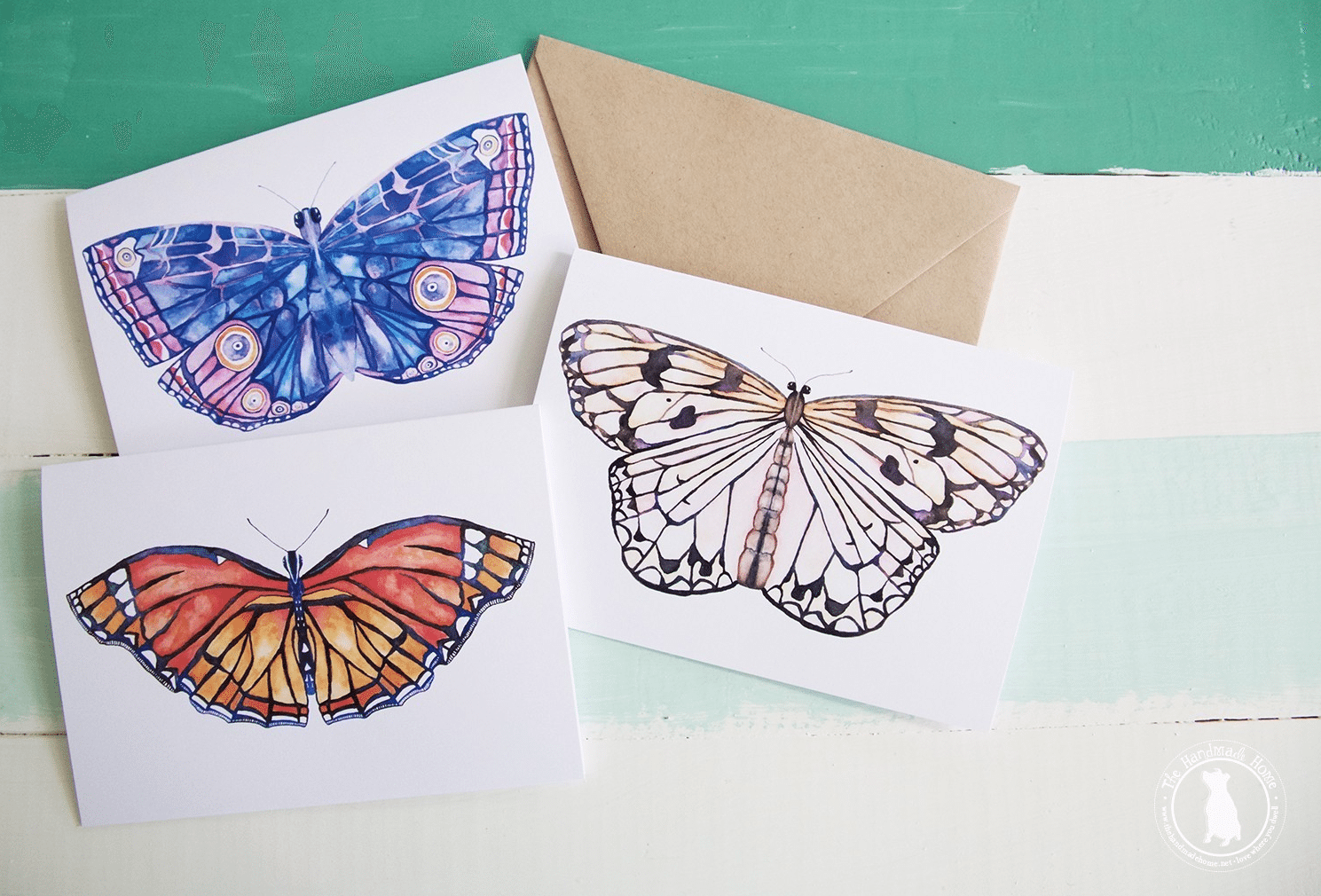 social-butterly-stationery