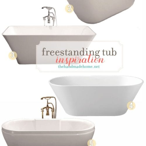 freestanding bathtub love