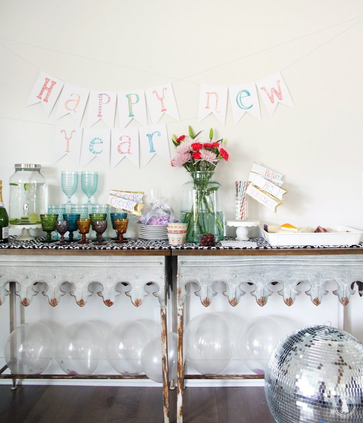 new years inspiration with waverly - The Handmade Home