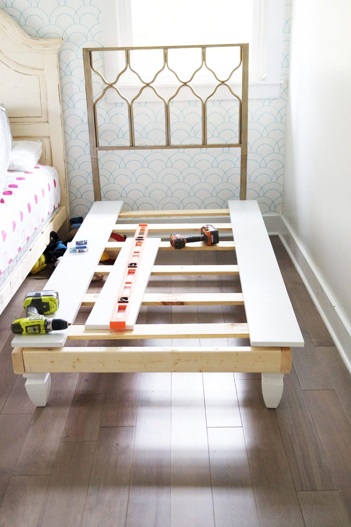 Floor bed frame bed stand ideas who needs a bed anyway for Make your own bed frame ideas