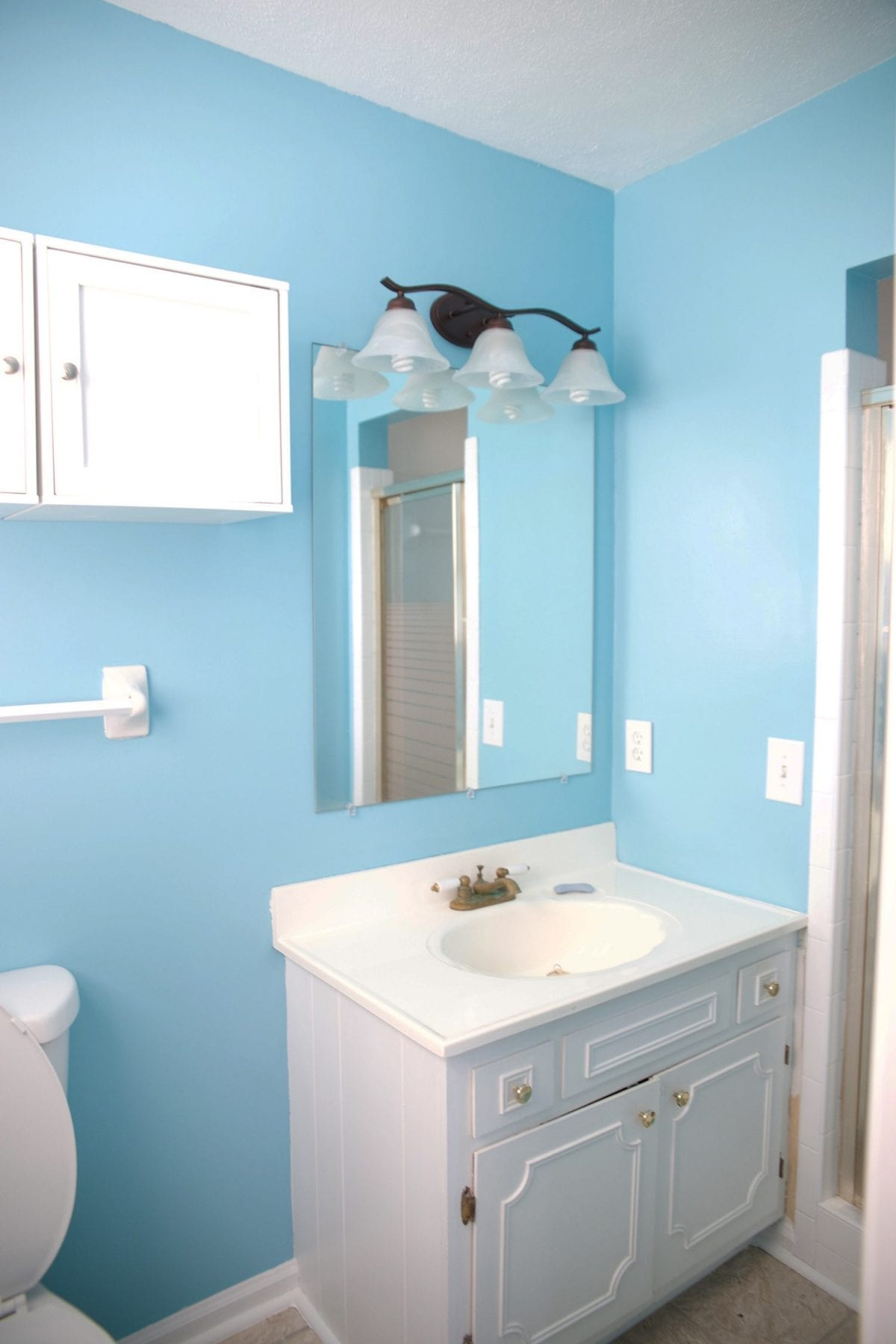 master bathroom renovation - The Handmade Home