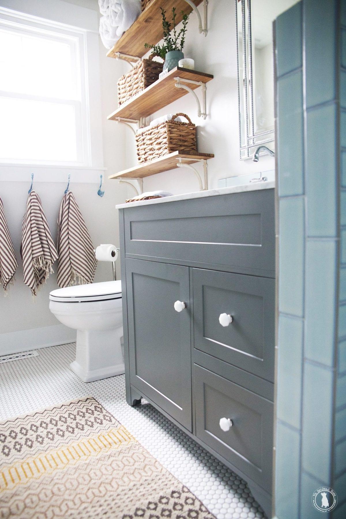 Bathroom Signs Home Depot master bathroom renovation - the handmade home