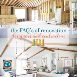 the faqs on renovation: designers and contractors 101