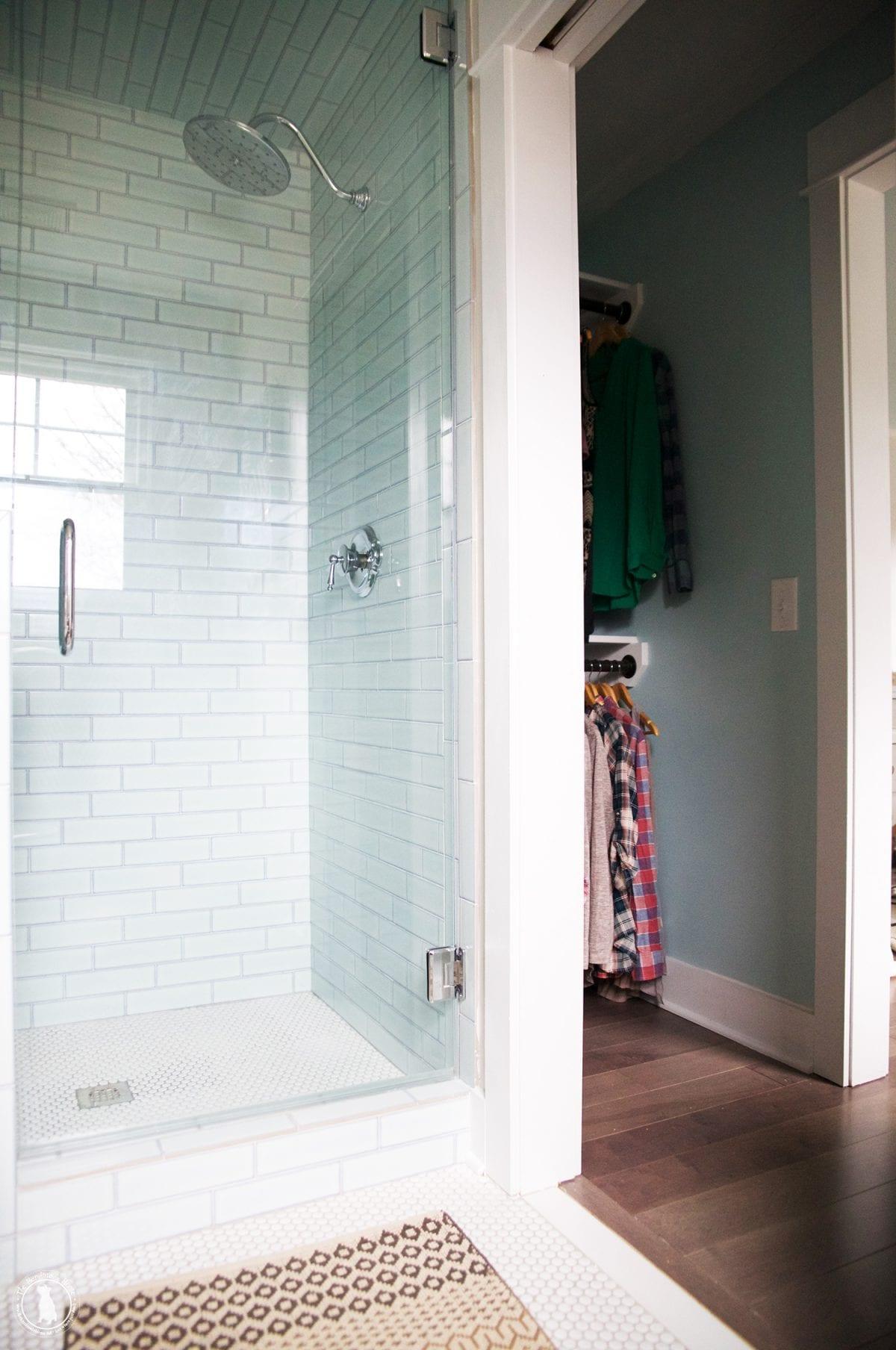 master bathroom renovation - The Handmade Home