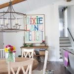 no foyer? no problem – tips + tricks for faking it