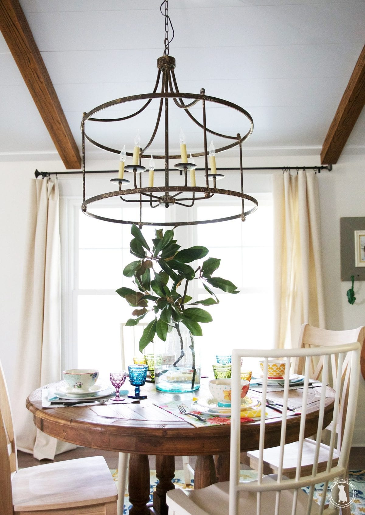 tips and tricks for an easy spring tablescape - the handmade home